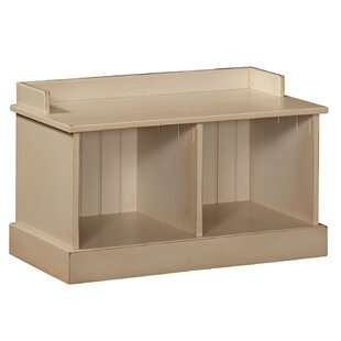 Compare prices Springboro Hall Wood Storage Bench By August Grove