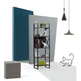 Cho 62.99 x 18.9 Etagere Bookcase by 17 Stories