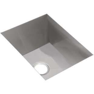 Crosstown 17 L x 21 W Undermount Kitchen Sink by Elkay