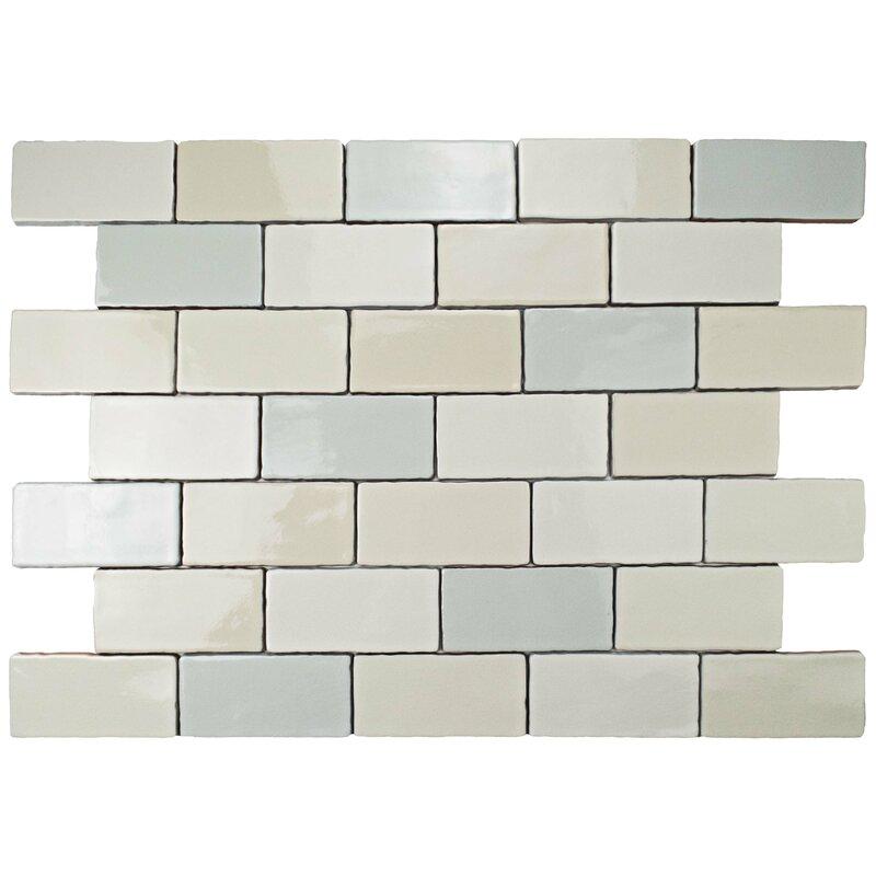 Antiqua 3 X 6 Ceramic Subway Tile In