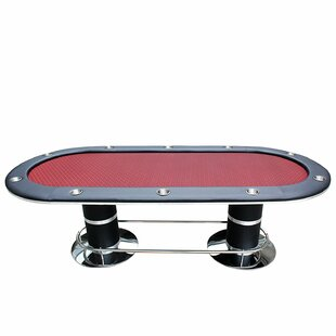 96 Professional Solid Double Base Poker Table by IDS Online Corp