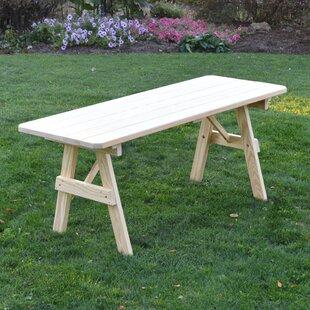 Sirretta Wooden Picnic Bench