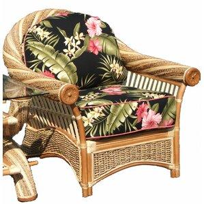 Spice Islands Wicker Maui Twist Arm Chair Image