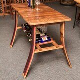 Unruh Wine Country Pub Tasting Table by Fleur De Lis Living