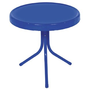 Shila Electric Retro Outdoor Metal Side Table