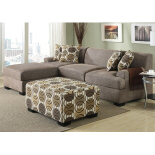 Arroyo Reversible Sectional with Ottoman