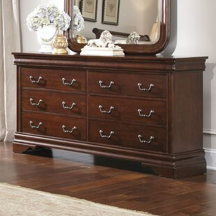 Raina 6 Drawer Double Dresser by Alcott Hill Best Choices