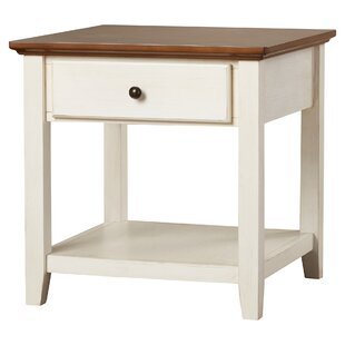 Rosenzweig End Table With Storage