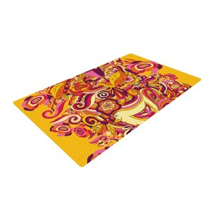 Alisa Drukman Utopia Orange/Gold Area Rug