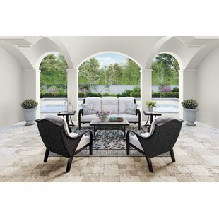 Kohn Deep Seating Group With Cushions by Bayou Breeze Cool