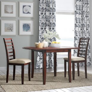 Thatcher 3 Piece Extendable Dining Set Beachcrest Home