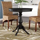 Silikou Solid Wood Dining Table by Bay Isle Home