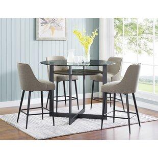 7a1fd930b Olson 5 Piece Pub Table Set. by Steve Silver Furniture