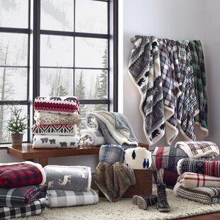 Edgewood Plaid Blanket by Eddie Bauer