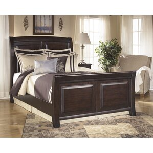 Ridgley Sleigh Bed by Signature Design by Ashley