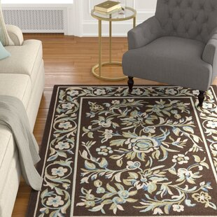 Rennie Brown/Blue Indoor/Outdoor Area Rug