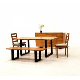 Zimmer Live Edge 7 Piece Solid Wood Dining Set Union Rustic