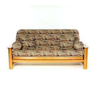 Nantucket Box Cushion Futon Slipcover by Lifestyle Covers