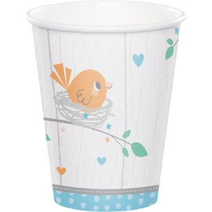 Hello Baby Paper Disposable Cup (Set of 24)