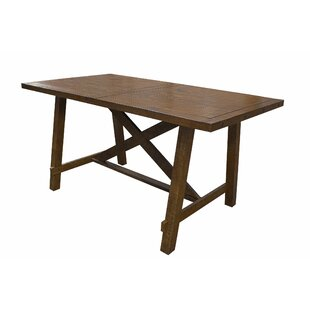 Counter Height Solid Wood Dining Table