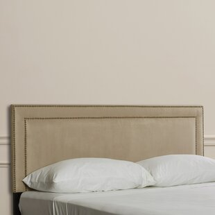 Read Reviews Doleman Nail Buttoned Upholstered Panel Headboard by Willa Arlo Interiors