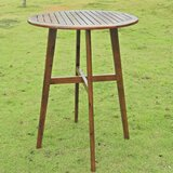 Roddy Wooden Bar Table