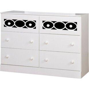 Low priced Matta 6 Drawer Double Dresser by Latitude Run