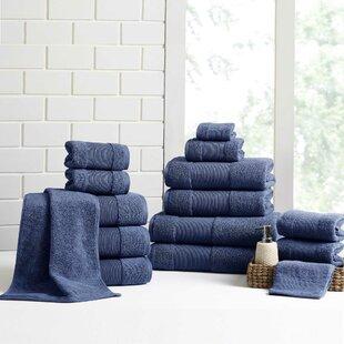 Mcculloch 18 Piece 100% Cotton Towel Set
