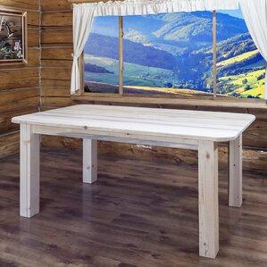 Abella Rustic Dining Table by Loon Peak