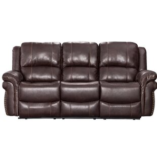 Affordable Monteith Leather Reclining Sofa by Winston Porter Reviews (2019) & Buyer's Guide