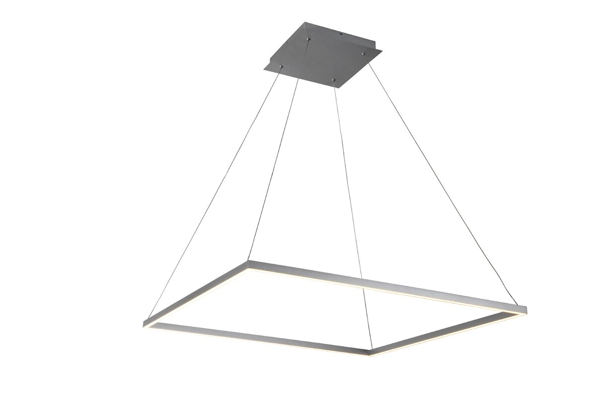 reviews allmodern lighting geometric pdp light caffrey pendant