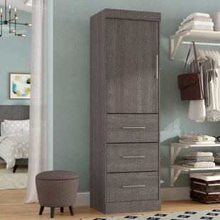 Reviews Baring 25W Closet System By Rebrilliant