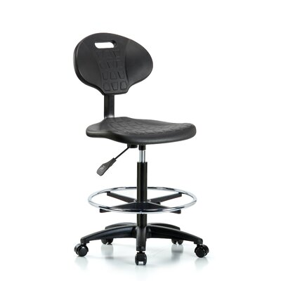 Drafting Chair Blue Ridge Ergonomics Casters/Glides: Casters