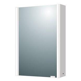 22 x 28 Surface Mount Framed Medicine Cabinet with LED Lighting