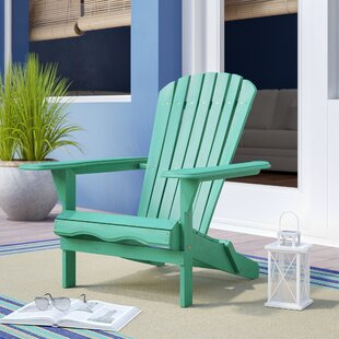 Everly Solid Wood Folding Adirondack Chair
