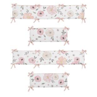 Comparison Floral Crib Bumper BySweet Jojo Designs