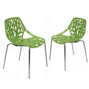 Crawley Tree Cucoloris Side Chair (Set of 2) by Ivy Bronx