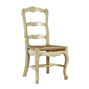 French Country Solid Wood Dining Chair (Set of 2)