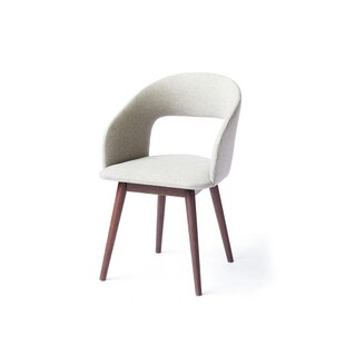 Top Deshawn Upholstered Dining Armchair by Corrigan Studio