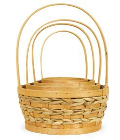 Bargain 4 Piece Wicker Basket Set By August Grove