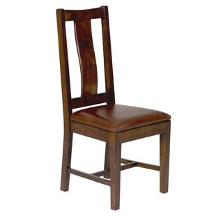 Kesgrave Genuine Leather Upholstered Dining Chair