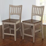 Gabler 24 Bar Stool (Set of 2) by August Grove®