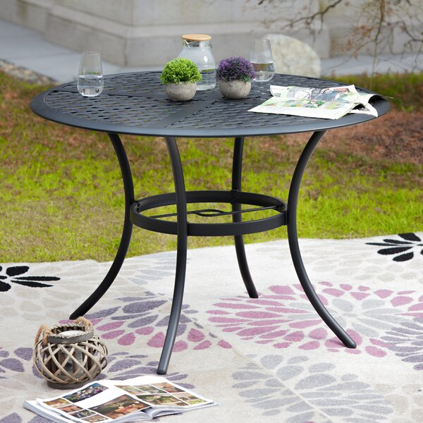 Large Outdoor Dining Table Wayfair