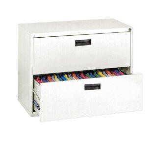 400 Series 2-Drawer File Cabinet