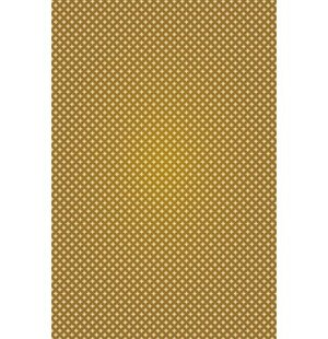 Jaylin Elegant Cross Design Brown/Cream Indoor/Outdoor Area Rug