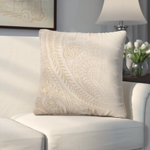 Longview Paisley Decorative Throw Pillow