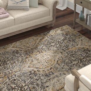 Devay Dark Gray/Cream Area Rug by Lark Manor