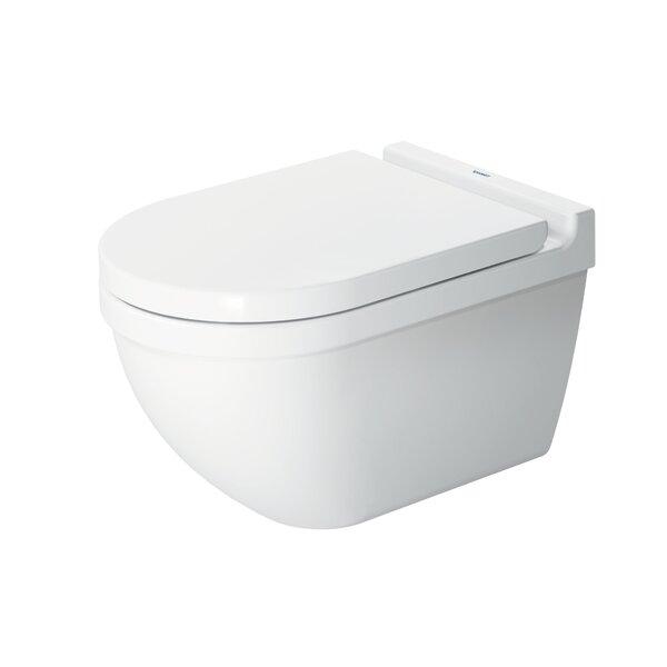Duravit Starck 3 Wall Mounted Toilet Bowl Dual Flush Wayfair