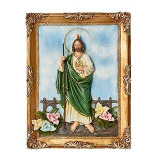 Saint Jude Framed Wall Art  sc 1 st  Wayfair & Religious Christian Wall Art   Wayfair