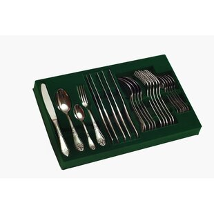 Palace 24 Piece Flatware Set, Service for 6